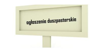 Ogłoszenia Duszpasterskie